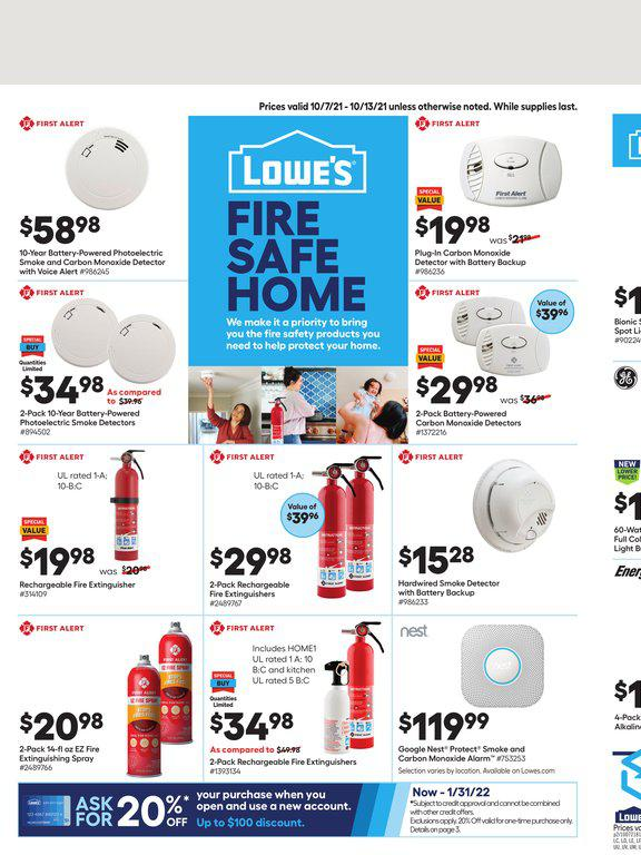 07.10.2021 Lowes ad 1. page