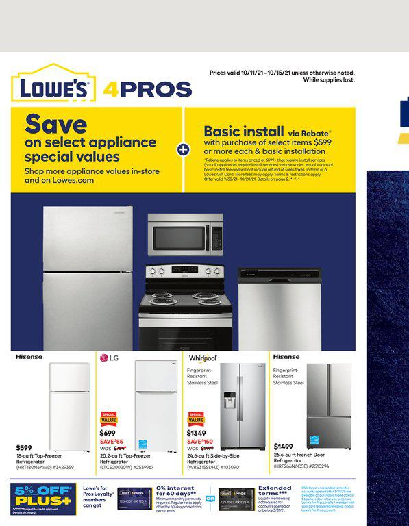 11.10.2021 Lowes ad 1. page