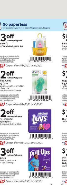 25.04.2021 Walgreens ad 15. page