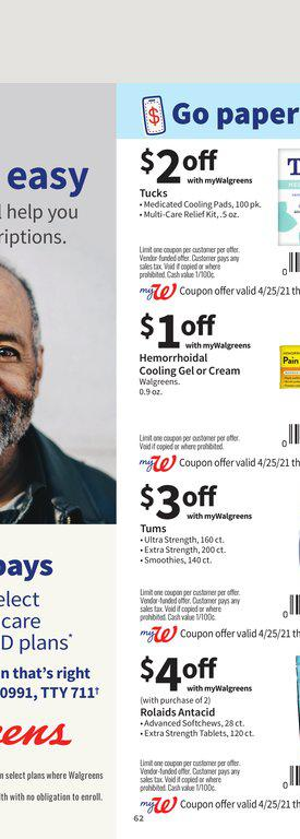 25.04.2021 Walgreens ad 61. page