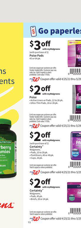 25.04.2021 Walgreens ad 71. page