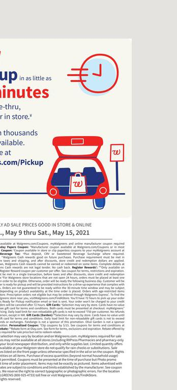 09.05.2021 Walgreens ad 20. page