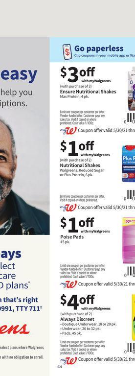 30.05.2021 Walgreens ad 63. page