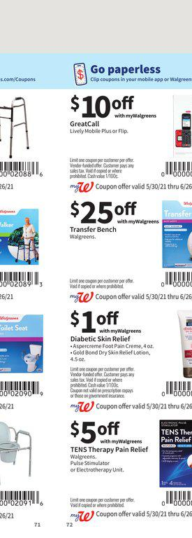30.05.2021 Walgreens ad 71. page