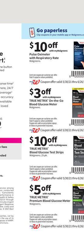 30.05.2021 Walgreens ad 74. page