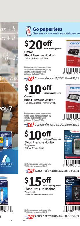 30.05.2021 Walgreens ad 77. page