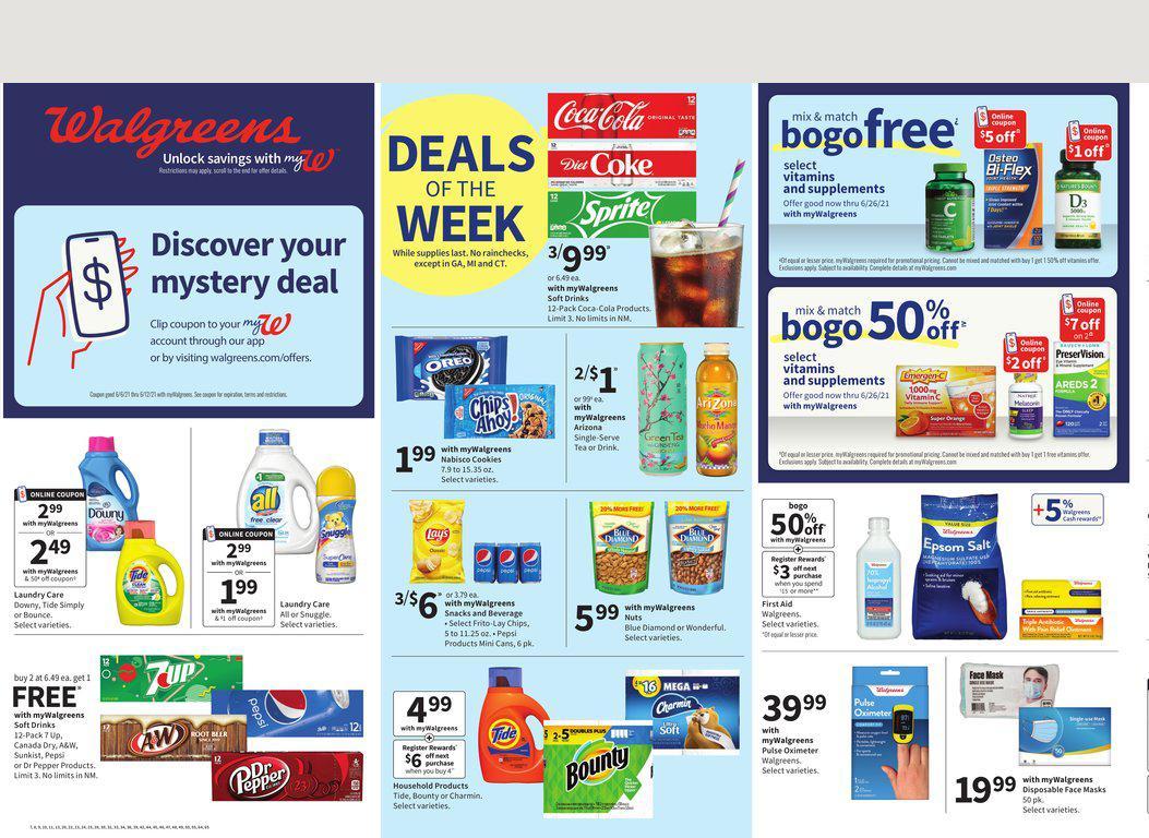 06.06.2021 Walgreens ad 1. page