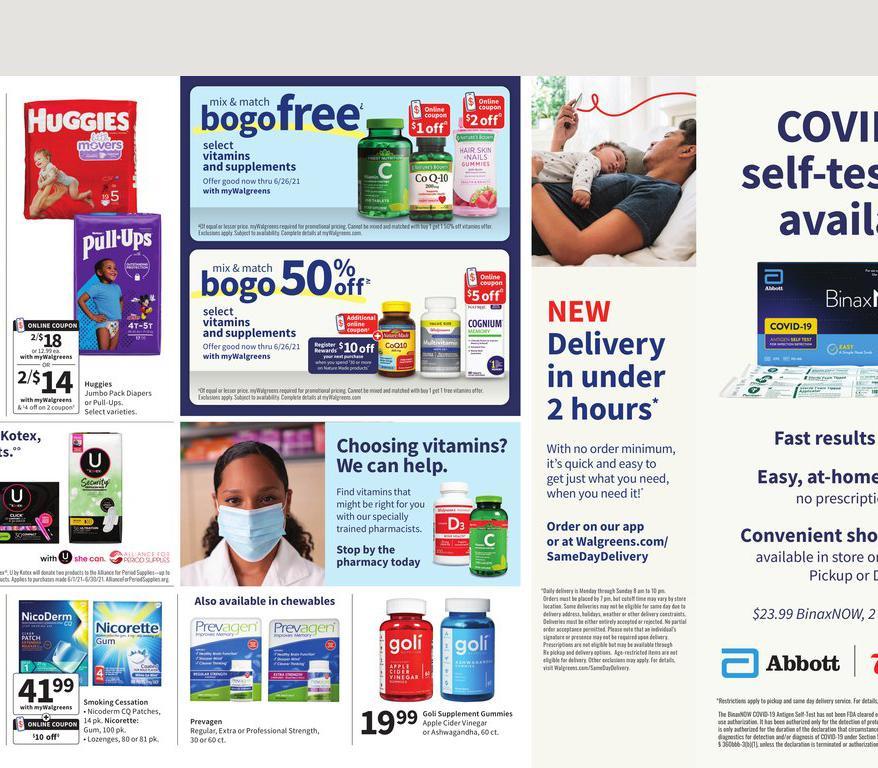 06.06.2021 Walgreens ad 20. page