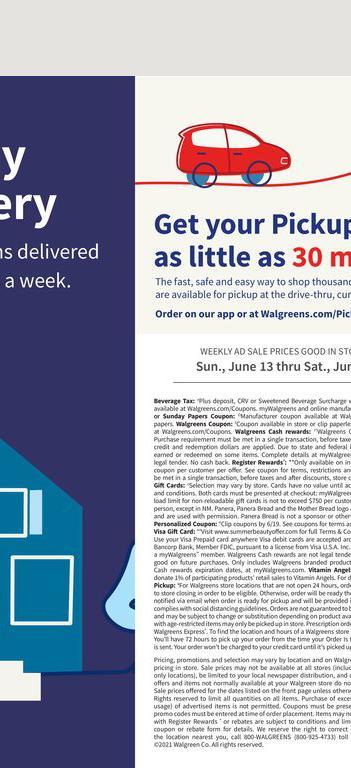 13.06.2021 Walgreens ad 25. page