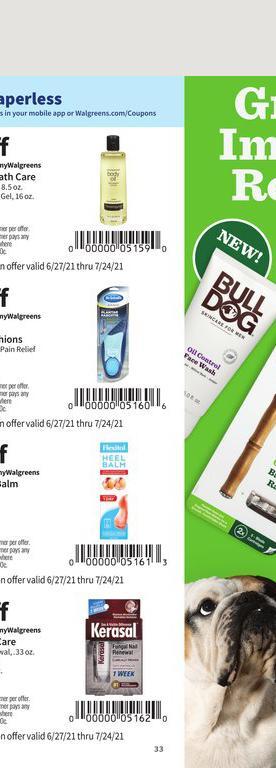 27.06.2021 Walgreens ad 31. page