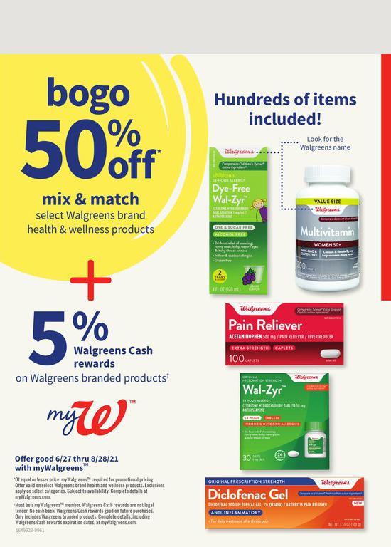 27.06.2021 Walgreens ad 4. page
