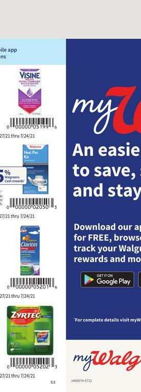 27.06.2021 Walgreens ad 50. page