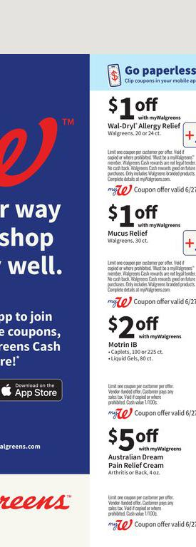 27.06.2021 Walgreens ad 51. page