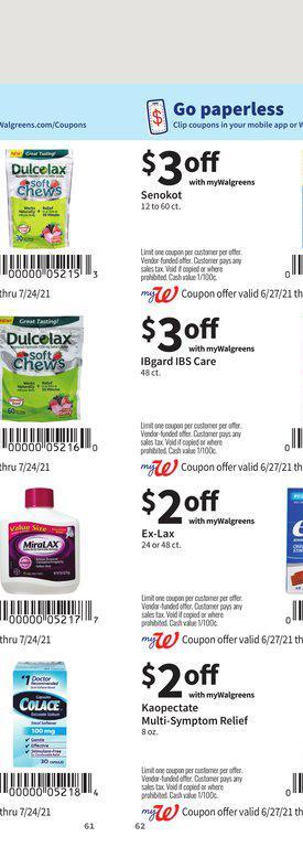 27.06.2021 Walgreens ad 58. page