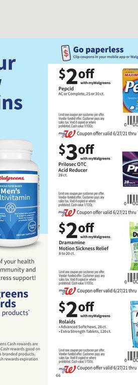 27.06.2021 Walgreens ad 62. page
