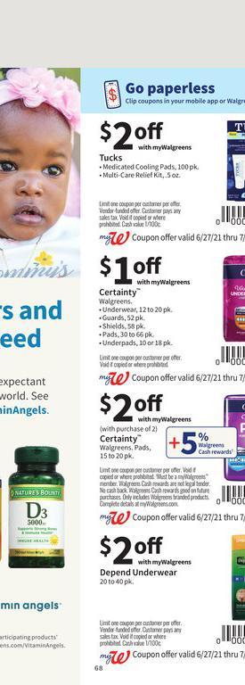 27.06.2021 Walgreens ad 64. page