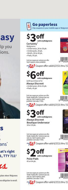 27.06.2021 Walgreens ad 67. page