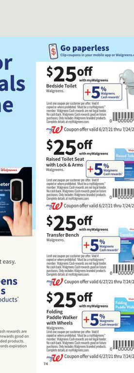 27.06.2021 Walgreens ad 70. page