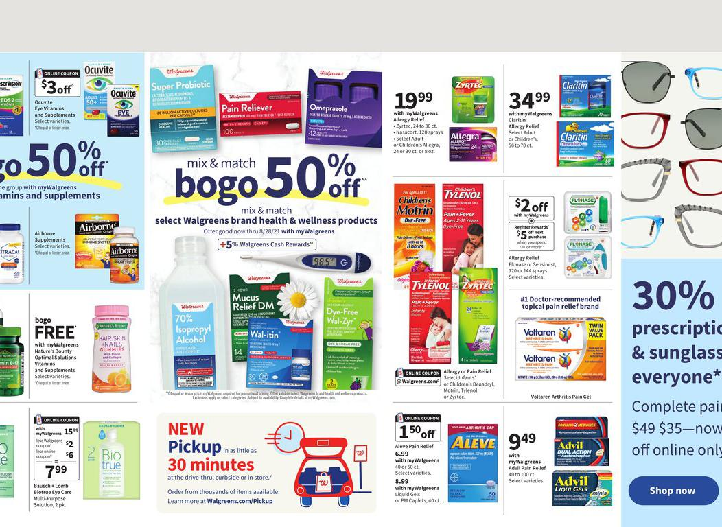 18.07.2021 Walgreens ad 16. page