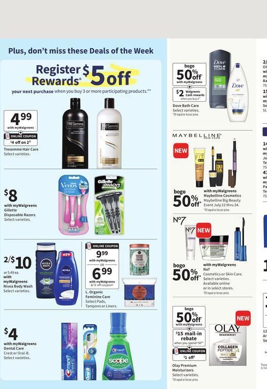 18.07.2021 Walgreens ad 2. page