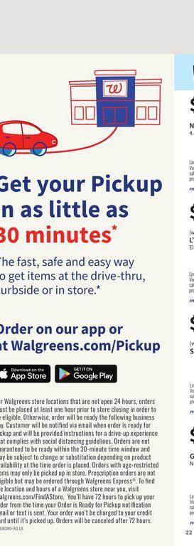 25.07.2021 Walgreens ad 20. page