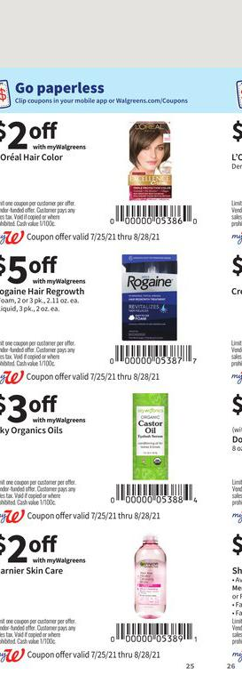 25.07.2021 Walgreens ad 24. page