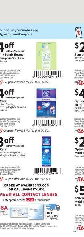 25.07.2021 Walgreens ad 38. page