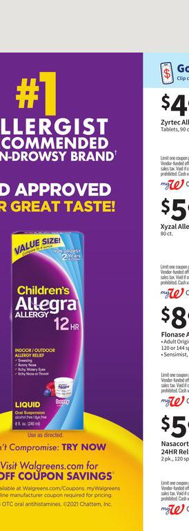 25.07.2021 Walgreens ad 49. page
