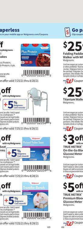 25.07.2021 Walgreens ad 64. page