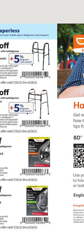 25.07.2021 Walgreens ad 65. page