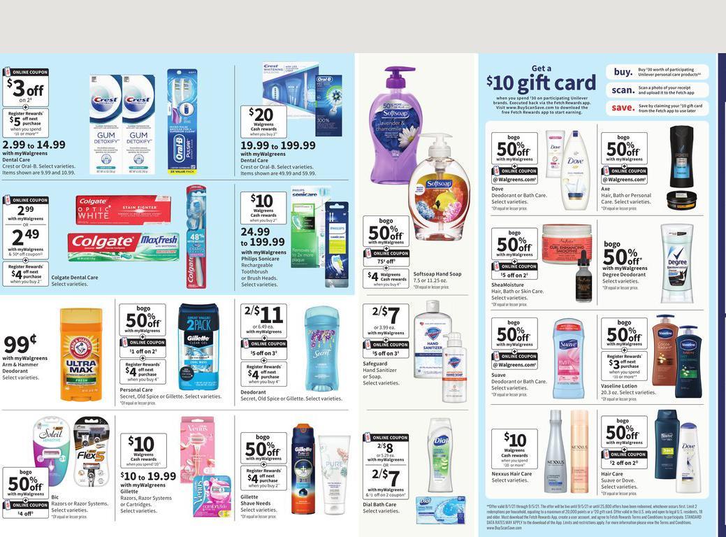01.08.2021 Walgreens ad 16. page
