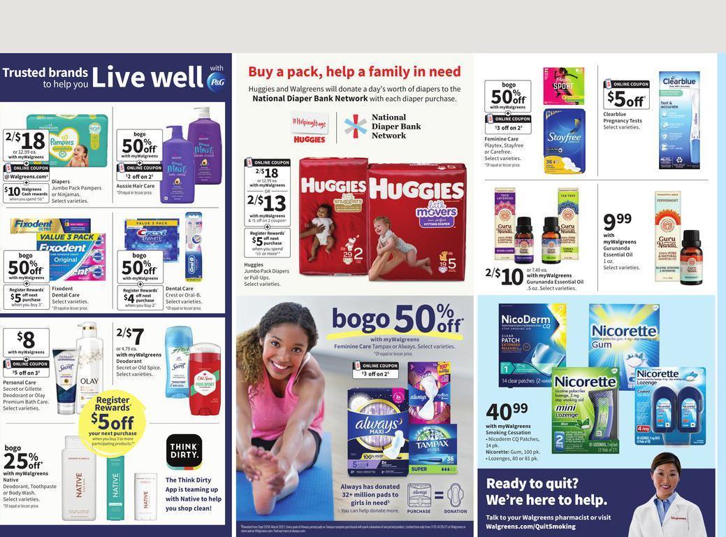 01.08.2021 Walgreens ad 17. page