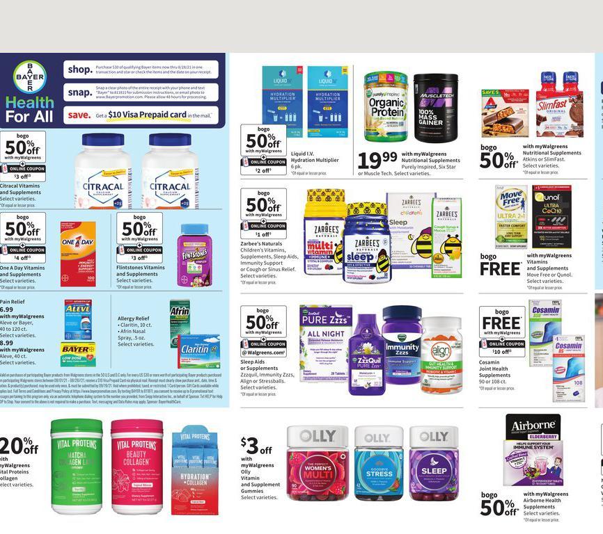 01.08.2021 Walgreens ad 19. page