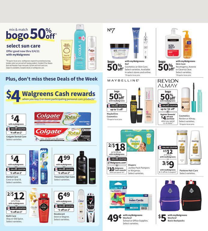01.08.2021 Walgreens ad 2. page