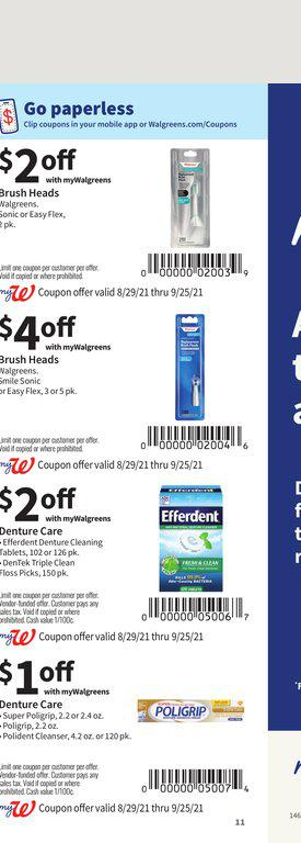 29.08.2021 Walgreens ad 11. page