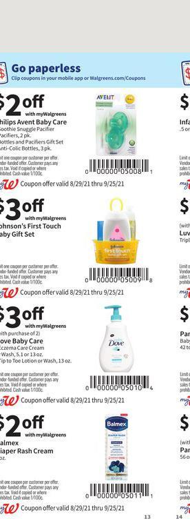 29.08.2021 Walgreens ad 13. page