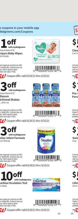 29.08.2021 Walgreens ad 15. page
