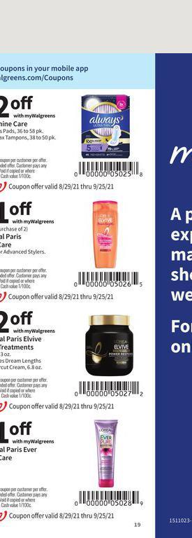29.08.2021 Walgreens ad 19. page