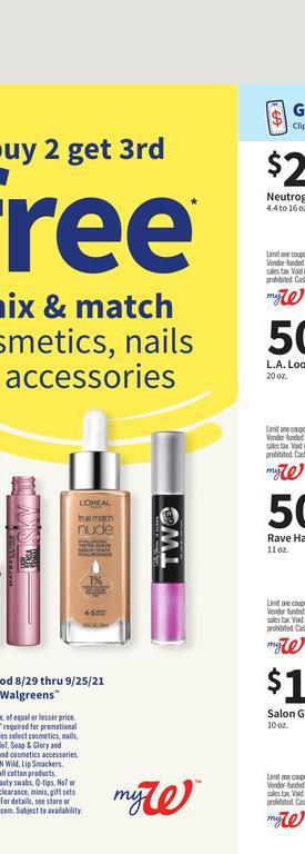 29.08.2021 Walgreens ad 22. page