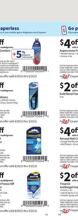 29.08.2021 Walgreens ad 31. page