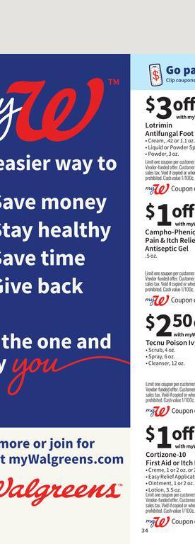 29.08.2021 Walgreens ad 33. page