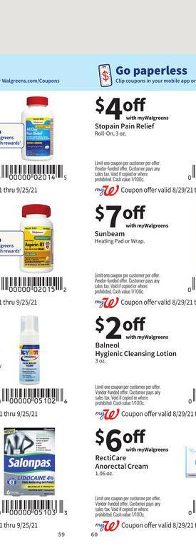 29.08.2021 Walgreens ad 59. page