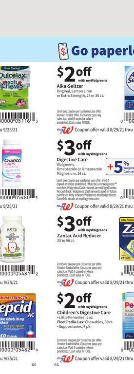 29.08.2021 Walgreens ad 65. page