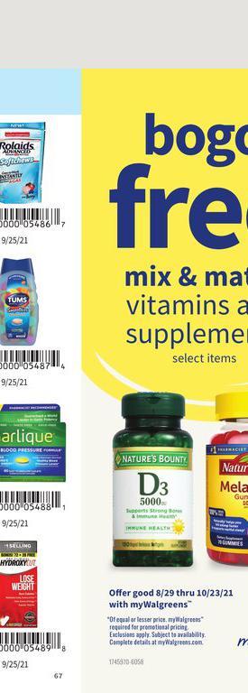 29.08.2021 Walgreens ad 67. page