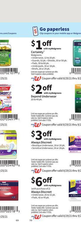 29.08.2021 Walgreens ad 69. page