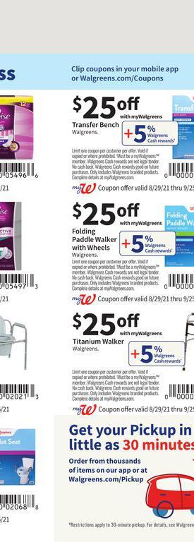 29.08.2021 Walgreens ad 72. page