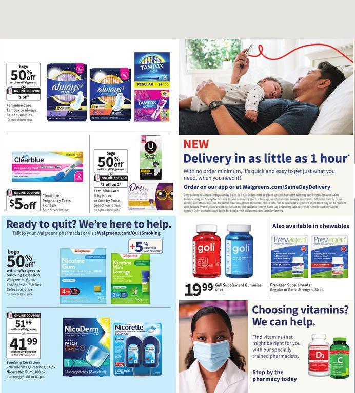 12.09.2021 Walgreens ad 15. page