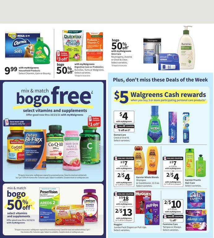 12.09.2021 Walgreens ad 2. page