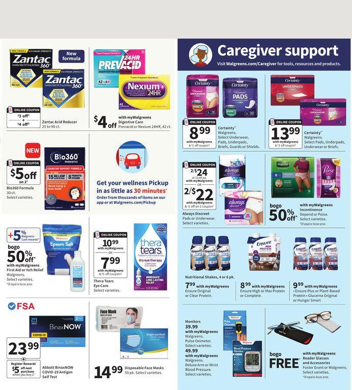 12.09.2021 Walgreens ad 20. page