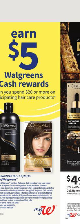 26.09.2021 Walgreens ad 19. page
